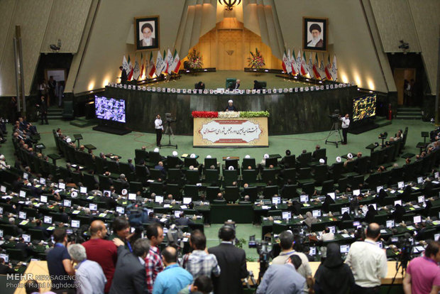 Pres. Rouhani addresses new parliament opening ceremony
