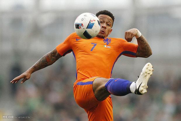 دیدار تیم های فوتبال ایرلند و هلند