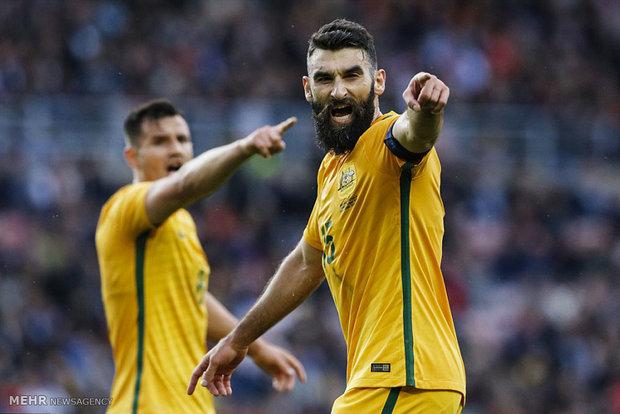 دیدار تیم های فوتبال انگلیس و استرالیا
