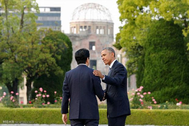 حضور اوباما در هیروشیما