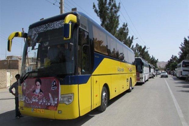 ۳۲۰۰ نفر از استان سمنان به مرقد امام خمینی (ره) اعزام می شوند