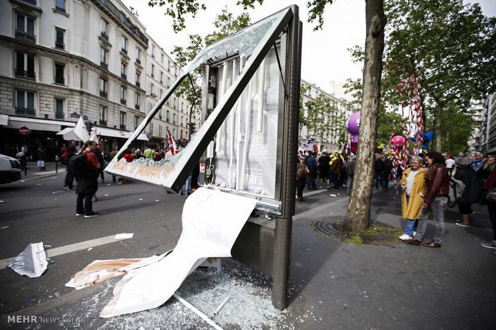 تظاهرات علیه اصلاح قانون کار فرانسه