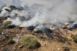 مانور اطفای حریق در حاشیه پارک ملی بمو