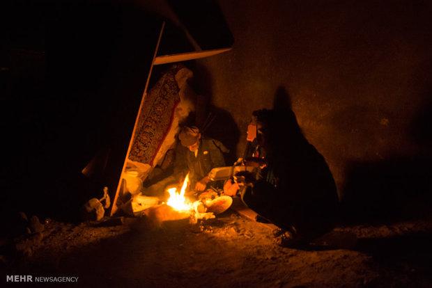 زندگی کارتن خواب ها در منطقه ملک آباد استان البرز