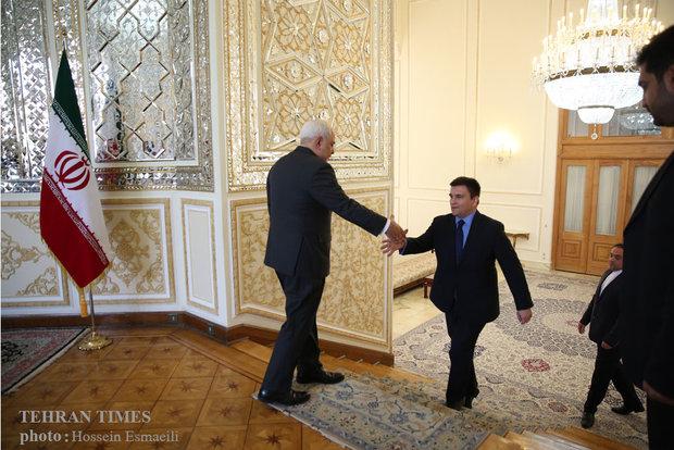 Iran, Ukraine FMs meet in Tehran