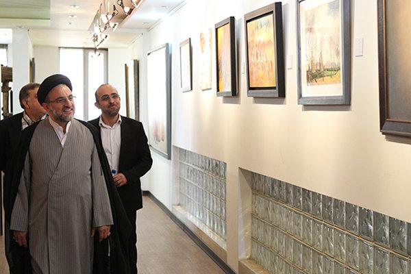 نمایشگاه «رویش هنر» ویژه معلولان گشایش یافت