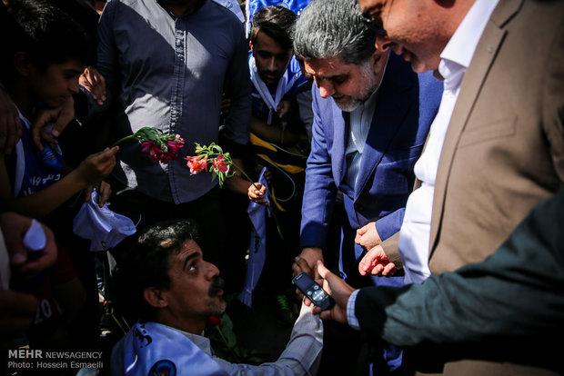 استاندار تهران به ورامین سفر کرد/افتتاح چند طرح کشاورزی