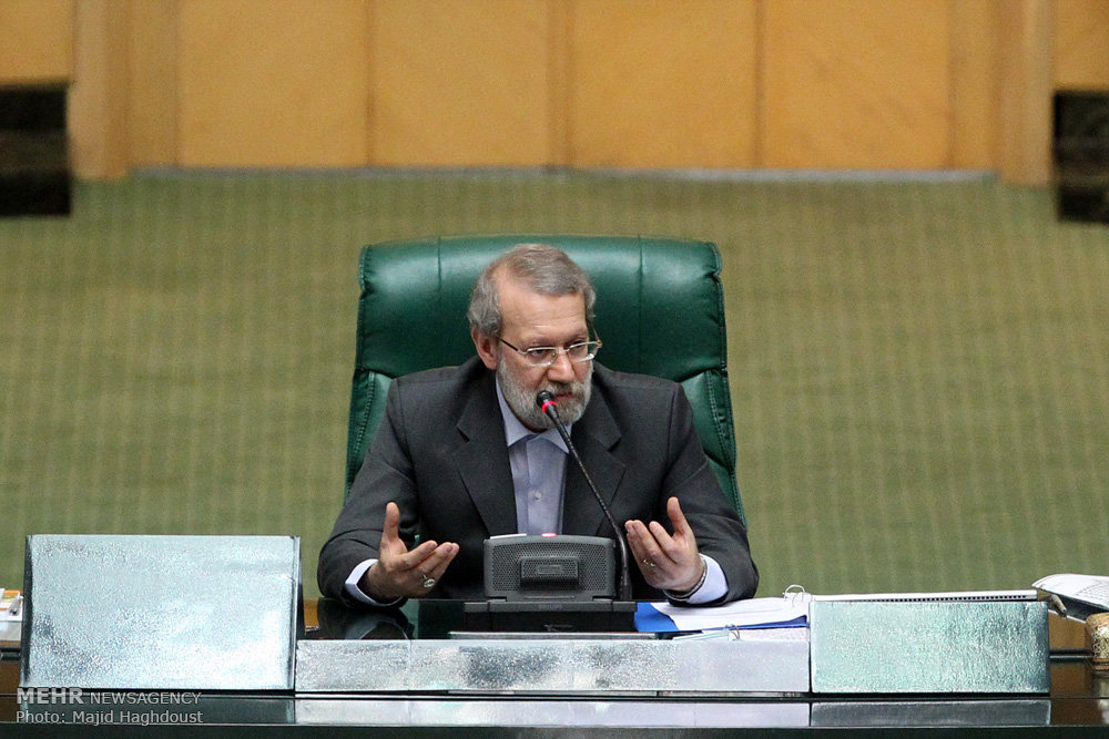 Larijani elected interim parliament speaker