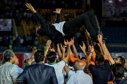 تہران کی فٹبال ٹیم استقلال اور ذوب آہن اصفہان کا فائنل مقابلہ