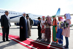 Rouhani visit Urmia for provincial