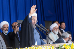 Pres. Rouhani in Urmia for provincial visit