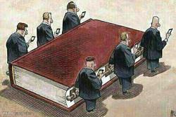 Kitabın cenaze töreni!