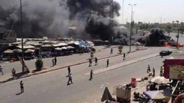 قتلى وجرحى بسلسلة انفجارات في بغداد