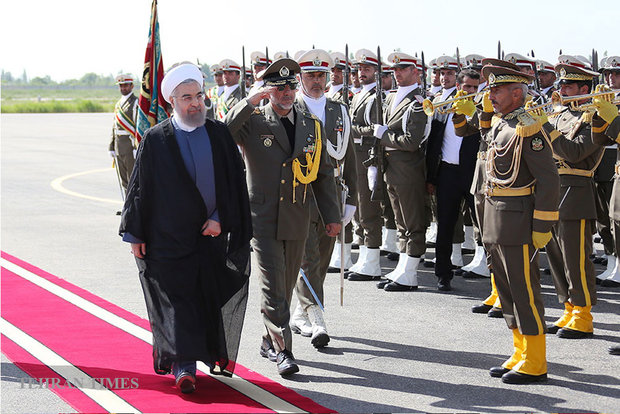 Rouhani in Urmia for provincial visit