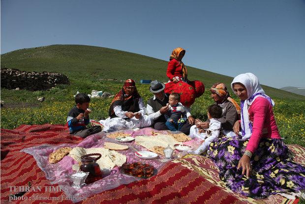 Iranian nomads in Arasbaran