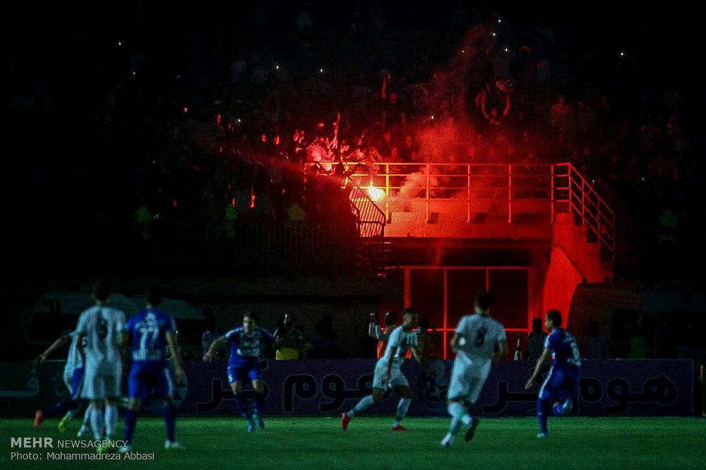 مباراة ذوب آهن اصفهان واستقلال طهران في نهائي بطولة الكأس