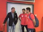 تیم ملی فوتبال وارد مقدونیه شد
