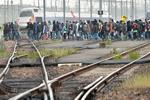 کارگران خطوط ریلی فرانسه به اعتصاب پیوستند