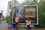 آلمانیها برای «زکات» تبلیغ میکنند