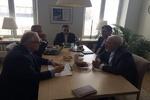 ظریف با رييس جمهور اسبق فنلاند دیدار کرد