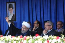 سفر حسن روحانی رئیس جمهور به مهاباد