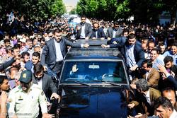 Ruhani'nin Mehabad ziyareti