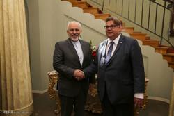 دیدار وزرای خارجه ایران و فنلاند