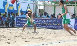 فینالیستهای مسابقات والیبال ساحلی کشور در آققلا مشخص شدند