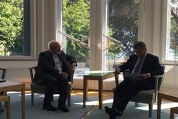 ظریف و رئیس جمهور فنلاند