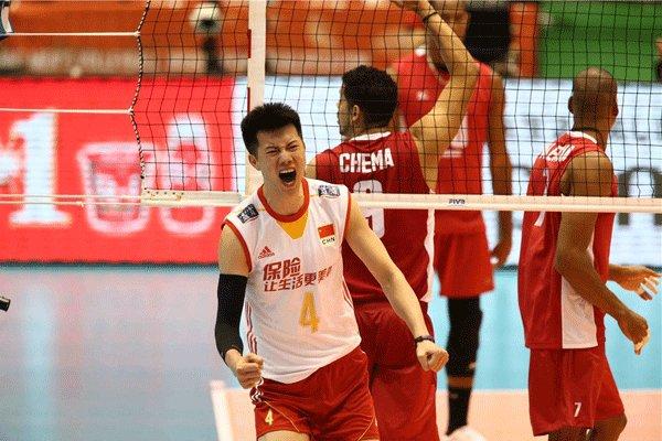 تیم والیبال مردان چین