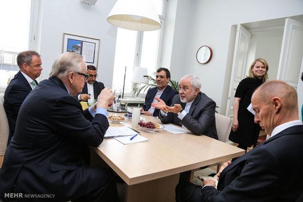 Zarif's meetings in Finland
