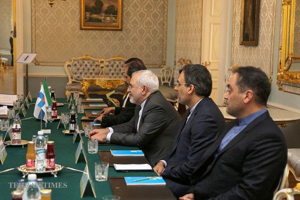 Iranian, Finnish FMs meet in Helsinki