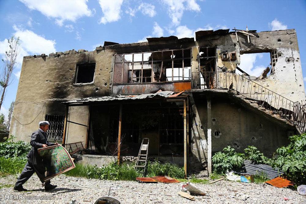 ویرانی های جنگ در جنوب شرق ترکیه
