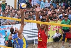 نماینده گلستان قهرمان مسابقات والیبال ساحلی کارگران کشور شد