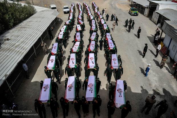 عودة 55 جثمان لشهداء الدفاع المقدس إلى أرض الوطن