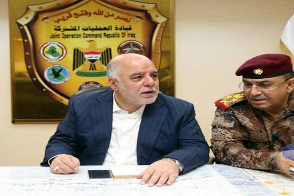العبادي يعفي قائد عمليات بغداد ومسؤولي الامن والاستخبارات في العاصمة