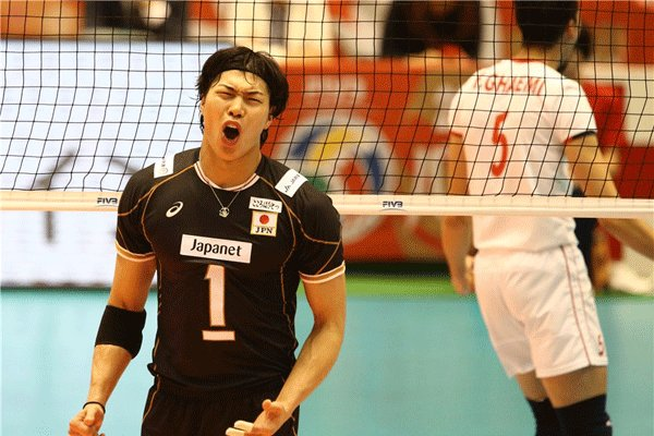 Iran, Japan volleyball in frames