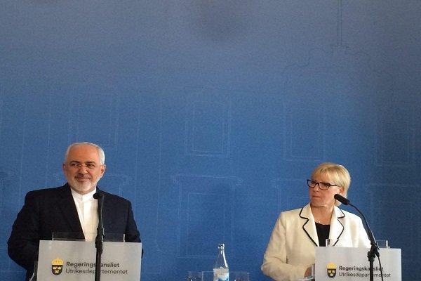 إيران والسوئد تستطيعان القيام بدور إيجابي في حل أزمات أوروبا والشرق الأوسط