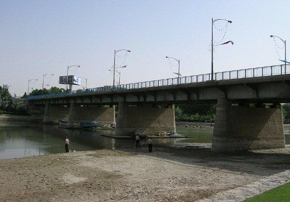 تعریض پل فلزی اصفهان کلید خورد