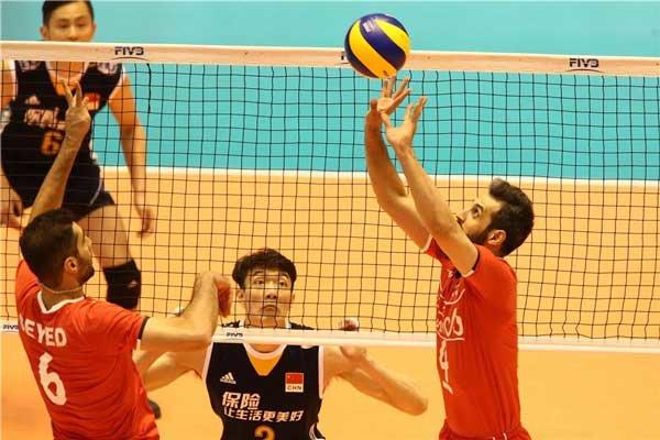 والیبال ایران و چین