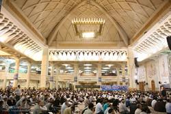 قم میں حضرت امام خمینی کی برسی کے موقع پر مجلس ترحیم
