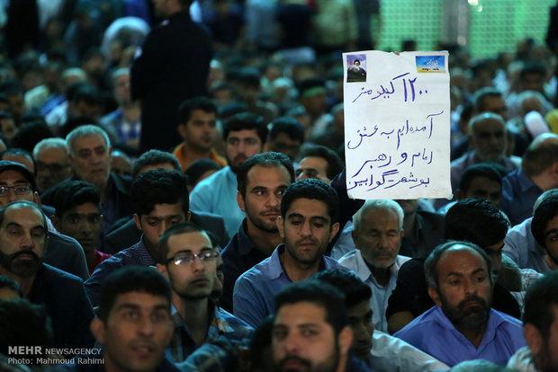 سخنرانی رییس جمهور در سالگرد ارتحال امام خمینی (ره)