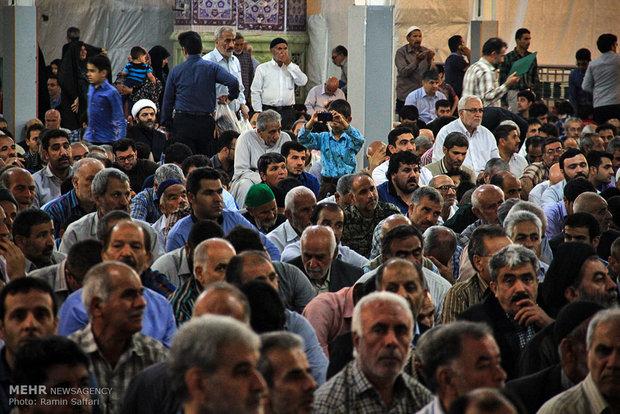 Commemoration of Imam Khomeini in Holy Shrine of Imam Reza