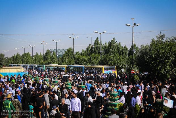 مراسم بیست و هفتمین سالگرد ارتحال بنیانگذار کبیر انقلاب اسلامی -6