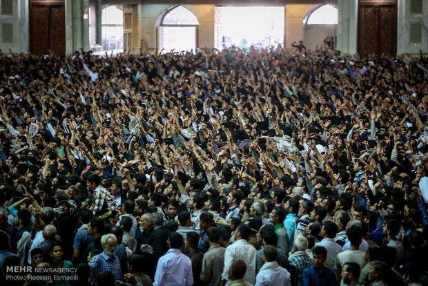مراسم بیست و هفتمین سالگرد ارتحال بنیانگذار کبیر انقلاب اسلامی
