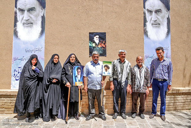 Imam Khomeini commemoration in his hometown