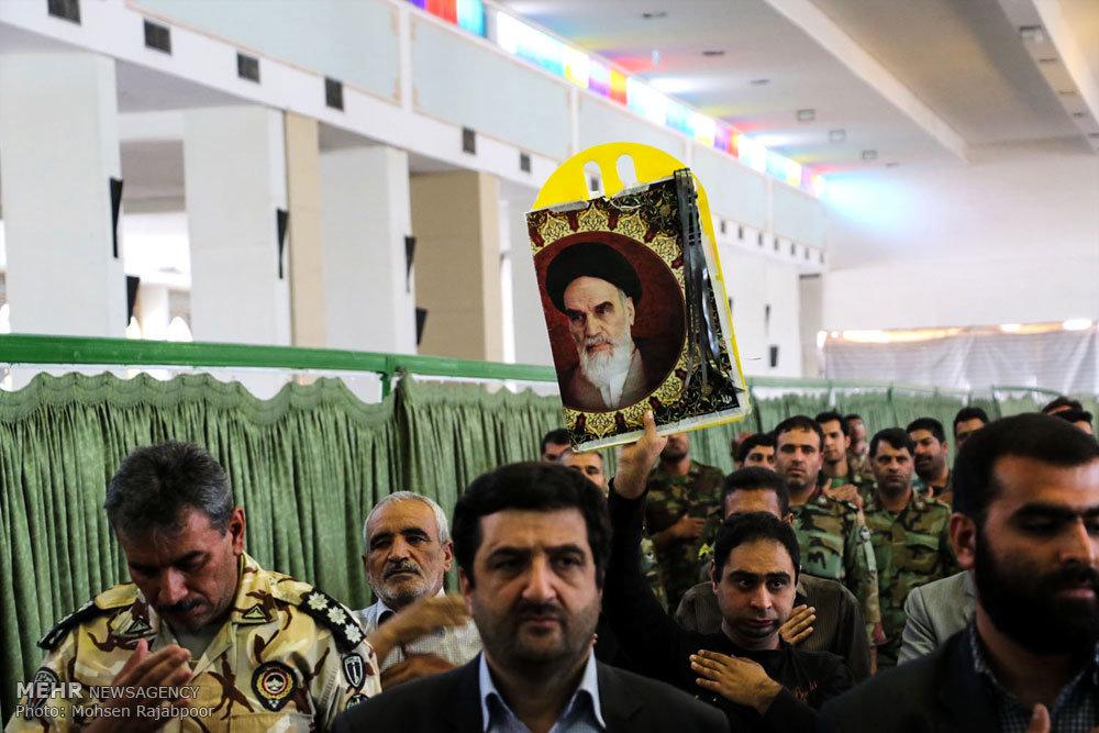 مراسم سالگرد ارتحال امام خمینی ( ره) در کرمان