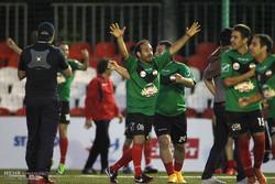 دیدار تیم های فوتبال هنرمندان ایران و روسیه