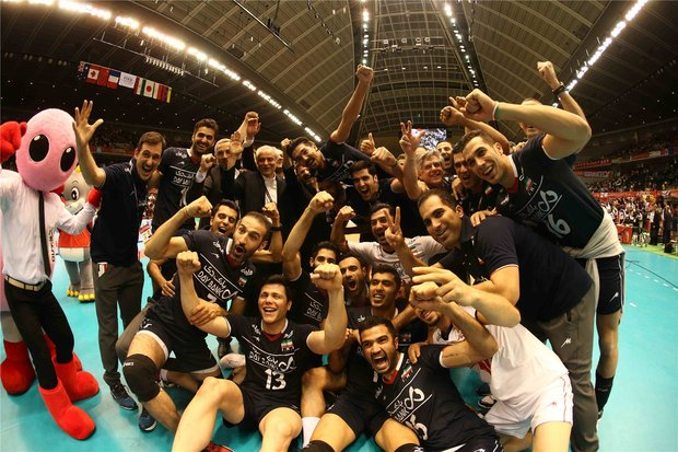 Iran's volleyball snares historic Olympic berth after 52 years