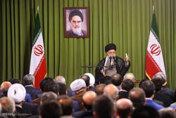 دیدار رئیس و نمایندگان مجلس شورای اسلامی با رهبر انقلاب